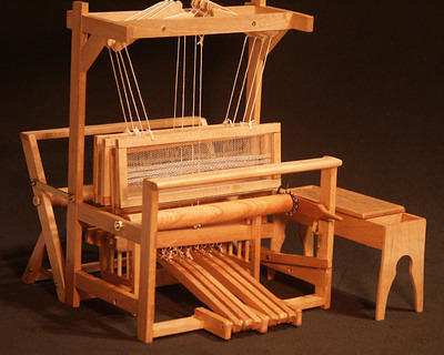 Front of loom