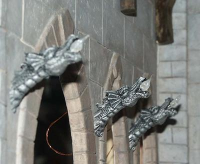 Dragon Wall Torches
