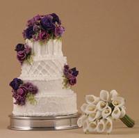 Amanda's Wedding Cake & Bouquet 1:12