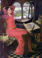 The Lady of Shalott  by J.W. Waterhouse