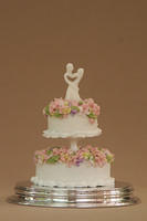 Miniature  1:12 Wedding Cakes
