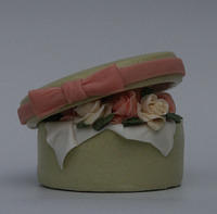 Peaches & Cream Hat Box