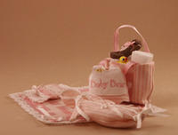 Pretty in Pink Layette