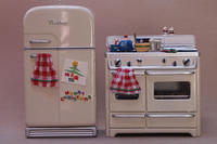 Hallmark Refrigerator and Stove Ornaments