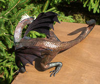 Sculpted Dragon - Top View
