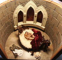 Medieval Castle Lovers and Dragon Bed Room